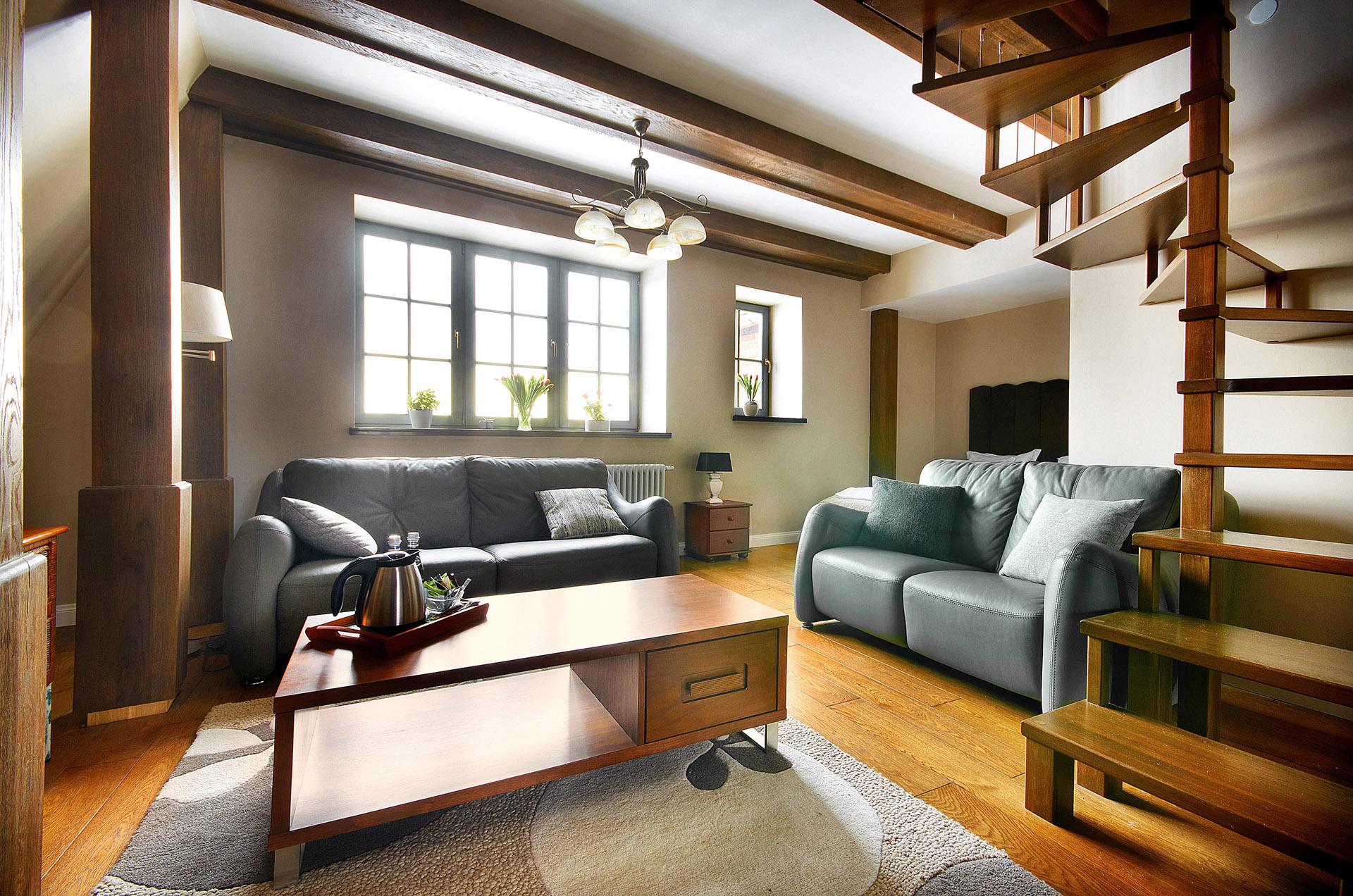 Zdjęcie pokoju apartamentu Komturia